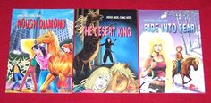 Horse Angel Series 3 Pony Comic Books Ages 6 & Up Rough Diamond Ride into Fear