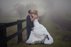 foggy wedding | Tyme Photography
