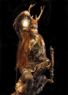 """""""Gwendolyn"""" created by the fabulous Sharon Aur, self taught Sculptress & Photographer North Wales, Uk. ~Art-Sculpture~"""