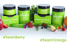 We love  our Greens! Are you #TeamBerry  or #TeamOrange ?