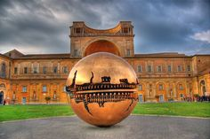 Sphere Sculptures, Vatican Museum. You can find great Rome hotel deals starting from 16€