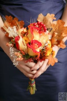 24 #Stunning Fall #Wedding #Bouquets ... → Wedding #Vintage