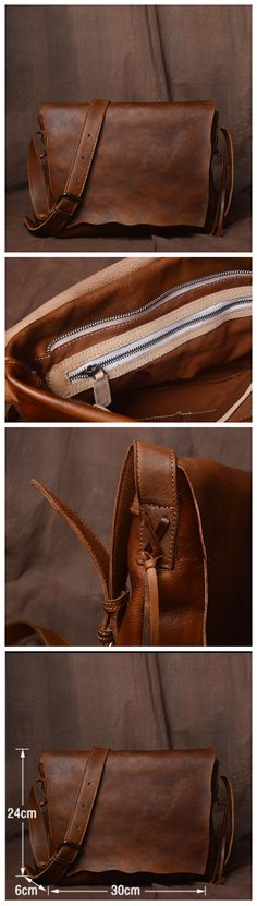 Handmade Leather Handbag Satchel Tan Portfolio Messenger Real Leather Saddle Bag Tablet - Men's style, accessories, mens fashion trends 2020 Leather Gifts, Leather Bags Handmade, Handmade Bags, Real Leather, Leather Saddle Bags, Leather Handbags, Leather Backpack, Leather Anniversary Gift, Cute Purses