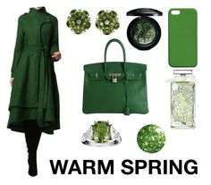 WARM SPRING by camilavillavicencio on Polyvore featuring Valentin Magro, Maison Takuya, MAC Cosmetics, Guerlain and Hermès