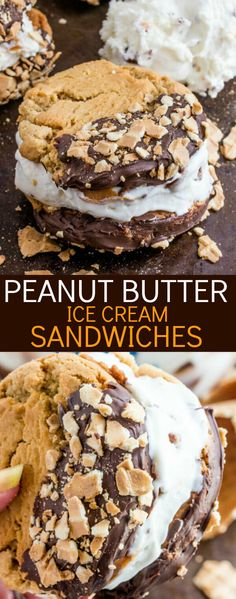 A fun Summer treat these Peanut Butter Ice Cream Sandwiches are a quick, easy and unbelievably tasty treat that the kids and adults will be devouring! AD #BlueBunny #SoHoppinGood @bluebunnyic @walmart