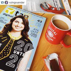 #Repost @ruhrgruender  Zeit fürn Kaffeepäuschen  #coffee #coffeebreak #t3n #magazin #subscription #digital #tech #nerd #startup #entrepreneurship #ruhrpott #ruhrgebiet #ruhrgründer #ruhrgruender #djv - Du hast ein cooles Foto von t3n (Sticker Magazine Tassen etc.) gemacht? Dann Tag #t3n / @t3n_magazin und du bekommst einen Repost  by t3n_magazin