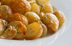 Krieltjes uit de oven met rozemarijn & knoflook