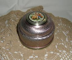 Antique music box....I had one just like this. Why oh why did I let so many treasures go? :/