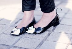 Mickey Mouse flats.