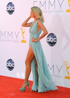Heidi Klum 64th Prime Time Emmys | Heidi Klum Heidi Klum arrives at the 64th Annual Primetime Emmy Awards ...