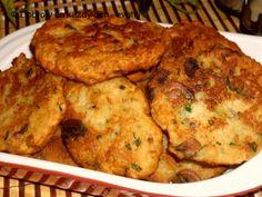 Houbové placičky - Naše Dobroty na každý den Gordon Ramsay, Cauliflower, Stuffed Mushrooms, Good Food, Brunch, Food And Drink, Cooking Recipes, Menu, Favorite Recipes