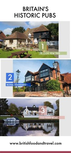 Part 2 of our look at some of the oldest pubs around Britain and their fascinating histories. British Travel, British Pub, Old Pub, Ferry Boat, English Village, British Countryside, Where To Go, Britain, Old Things