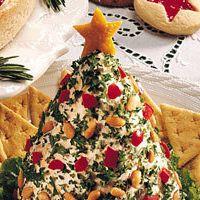 Holiday Tree - Shaped Cheese Ball