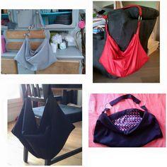 Une série de sacs Sw