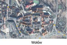 Układ pseudoowalnicowe (typ śląski). Oparte na dwóch równoległych ciągach ulic schodzących się w do dwóch bram miejskich, zamkniętych z reguły w owalu. Przykłady miast:Wołów,Bytom,Tarnów,Ścinawa,