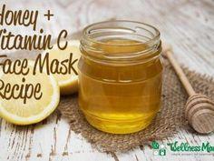 Honey and Vitamin C Face Mask Recipe