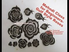 Mehndi Class for Beginners- How to Draw Different Gulf Style Roses with Explaination Dubai Mehendi Designs, Khafif Mehndi Design, Floral Henna Designs, Mehndi Designs Book, Mehndi Design Pictures, Unique Mehndi Designs, Beautiful Henna Designs, Latest Mehndi Designs, Bridal Mehndi Designs