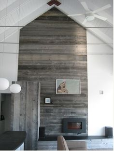 Above the fireplace focal point idea