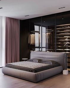 The Most Beautiful Pink Bedroom Decoration Ideas - Bedroom Design Residential Interior Design, Luxury Homes Interior, Contemporary Interior Design, Decor Interior Design, Residential Lighting, Interior Designing, Decoration Inspiration, Decoration Design, Decor Ideas