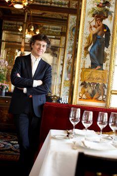 Guy Martin, chef étoilé  au Grand Véfour Paris