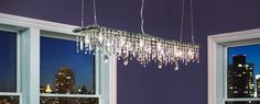 Industrial-chic modern chandeliers  & contemporary lighting