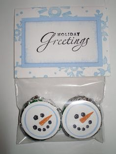 Cold Play Mints by - Cards and Paper Crafts at Splitcoaststampers Christmas Craft Fair, Holiday Crafts, Christmas Holidays, Christmas Cards, Christmas Cookies, Holiday Ideas, Christmas Ideas, Merry Christmas, Candy Crafts