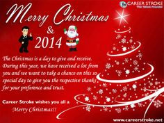 Career Stroke wishes you and your family a #MerryChristmas !! Stay Blessed  — with @Career Stroke.