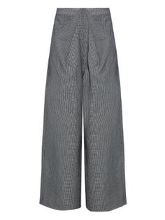 Ziggy hound's-tooth wool-blend trousers  | Rosie Assoulin | MATCHESFASHION.COM US