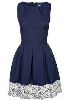 Closet - Cocktailkleid / festliches Kleid - navy/cream