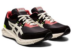 TARTHER BLAST | GRAPHITE GREY/IVORY | スポーツスタイル(アシックスタイガー) メンズ スニーカー | ASICS Design Tradicional, Asics Running Shoes, Marathon Runners, Comfortable Sneakers, Mens Fashion Shoes, Men's Shoes, Ivory, Pairs, Stylish