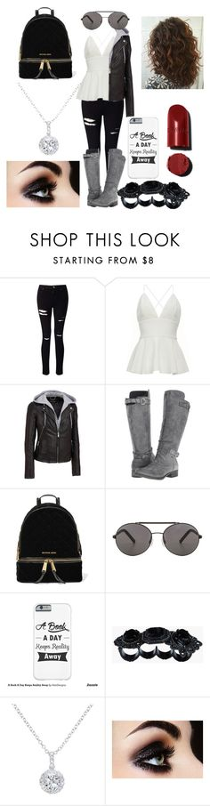 """6 days until my birthday"" by pumpchkinpie ❤ liked on Polyvore featuring Miss Selfridge, Wilsons Leather, Rocket Dog, MICHAEL Michael Kors, Seafolly, Dsquared2 and EWA"