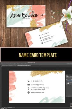 Get this beautiful business card template. Etsy Business Cards, Make Business Cards, Double Sided Business Cards, Real Estate Business Cards, Printable Business Cards, Modern Business Cards, Creative Business, Diy Design, Design Cars