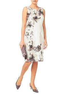 Jacques Vert Floral Placement Print Dress