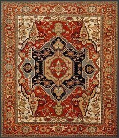 Turkish Heriz Oriental Rug #38659