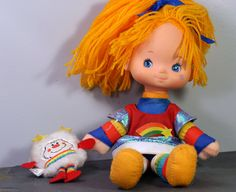 Rainbow Brite Doll with White Sprite Twink