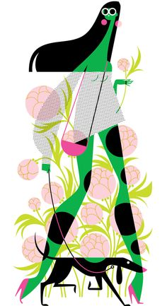 Fashion, Beauty, and Lifestyle Illustration by Kirsten Ulve from her illustration portfolios on Dripbook. Crisp, colorful and graphic illustration for fashion, beauty, caricature, lifestyle, editorial, and kids