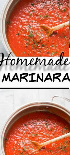Homemade Marinara Sauce Recipe Skip the jarred stuff, a homemade marinara sauce is the way to go! This simple sauce has many uses and it's incredibly simple to make! Italian Dishes, Italian Recipes, New Recipes, Favorite Recipes, Healthy Recipes, Icing Recipes, Chickpea Recipes, Lentil Recipes, Sauces