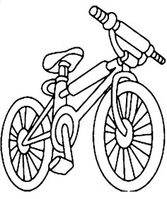 Bmx Bike Coloring Pages