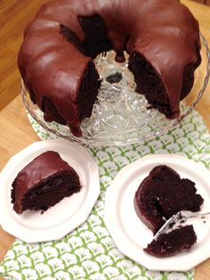 Chocolate Fudge Truffle Bundt Cake