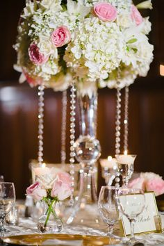Pretty! Although I really dont like Big, tall centerpieces
