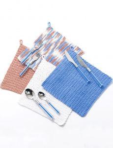 Dishcloth and Potholder | Yarn | Free Knitting Patterns | Crochet Patterns | Yarnspirations