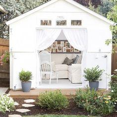 Sheds & Summerhouses   Garden Decorating Ideas - Red Online