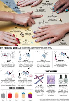 The New French Manicure: A Guide - Businessweek