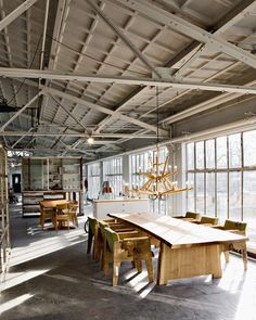 Nice loft with a lot of sunlight