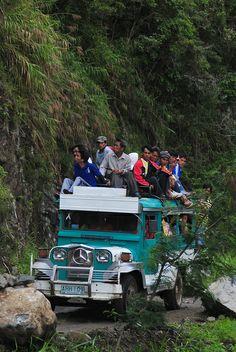 Jeepney - Batad, Philippines