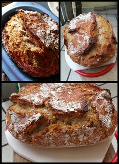 Knusper-Mischbrot Yummy Food, Tasty, Pampered Chef, Pain, Bread Recipes, French Toast, Sweets, Homemade, Snacks