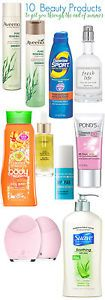 !0 Beauty Products to Help You Through the End of Summer.