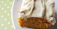 This is simply delicious! No raisins, no pineapple, just yummy, moist carrot cake. I suggest making this the night before serving, it tastes...