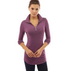 High Quality Skinny Women T-shirt Solid Long Sleeve V-neck Zipper Tops Casual Slim Fit Shirt Camiseta Mujer