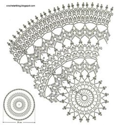 Crochet Doily Patterns for the Vintage Daily Appearance In this modern day, there are some vintage styles that are still necessary to be applied in the fashion items. Some of them are the crochet doily patterns. Filet Crochet, Art Au Crochet, Mandala Au Crochet, Thread Crochet, Free Crochet Doily Patterns, Crochet Doily Diagram, Crochet Circles, Crochet Motif, Dream Catcher Crochet Pattern